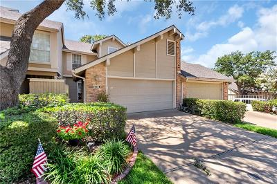 Lake Highlands Townhouse For Sale: 8426 Barnaby Street