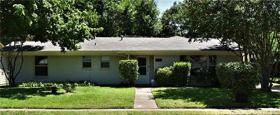 Irving Single Family Home Active Option Contract: 2512 W 11th Street