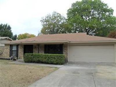 Hurst Single Family Home Active Option Contract: 1025 Livingston Drive