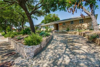 Dallas Single Family Home Active Option Contract: 5923 Canterview Drive