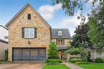 Dallas Single Family Home For Sale: 4900 W Stanford Avenue