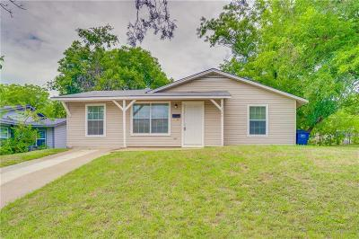 Tarrant County Single Family Home For Sale: 5220 Lovell Avenue