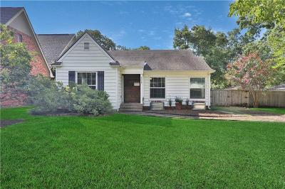 Dallas Single Family Home For Sale: 8648 Forest Hills Boulevard