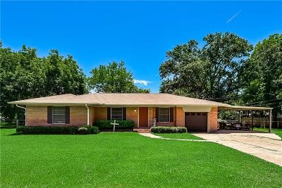 Mabank Single Family Home Active Option Contract: 510 E Kempner Street