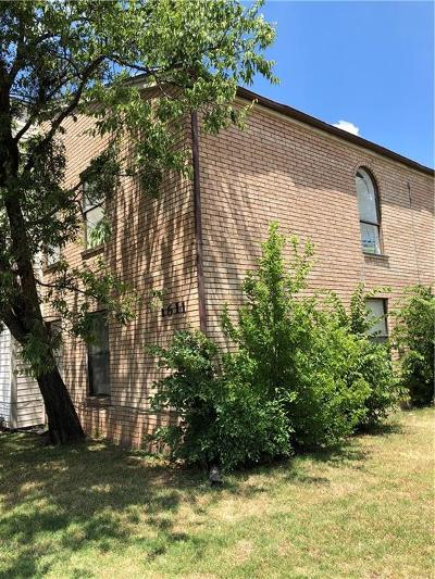 Archer County, Baylor County, Clay County, Jack County, Throckmorton County, Wichita County, Wise County Multi Family Home For Sale: 1611 Bell Street