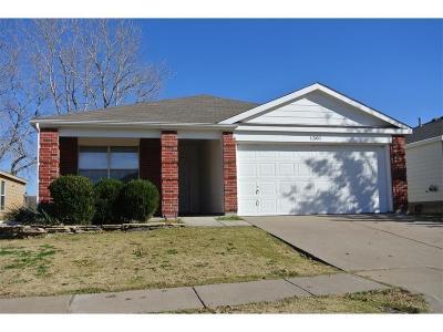 Sherman Single Family Home For Sale: 1301 Mallard Drive