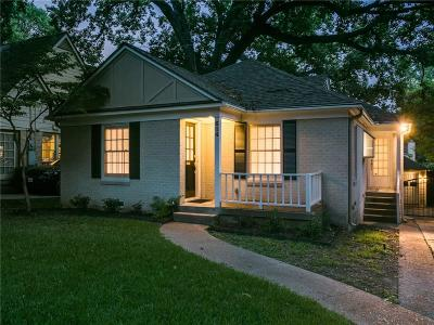 Dallas Single Family Home For Sale: 614 Blair Boulevard