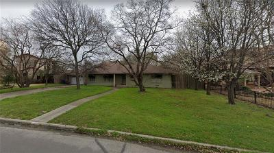 Dallas Residential Lots & Land For Sale: 11616 Jamestown Road