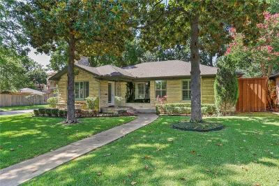Dallas County Single Family Home For Sale: 5503 Druid Lane