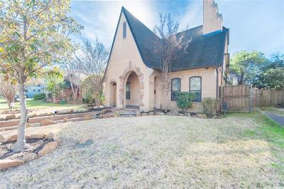 Dallas Single Family Home For Sale: 5450 Miller Avenue