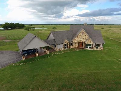 Navarro County Single Family Home Active Option Contract: 1100 County Road 2160 NW