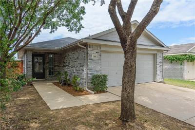 Denton Single Family Home Active Option Contract: 905 Savage Drive