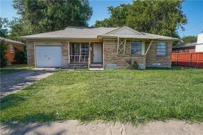 Garland Single Family Home For Sale: 2817 W Walnut Street