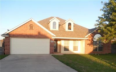 Weatherford Single Family Home For Sale: 1816 Roadrunner Drive