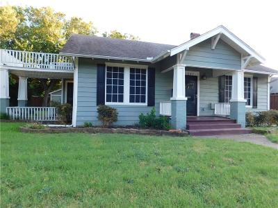 Waxahachie Single Family Home For Sale: 1207 W Ross Street