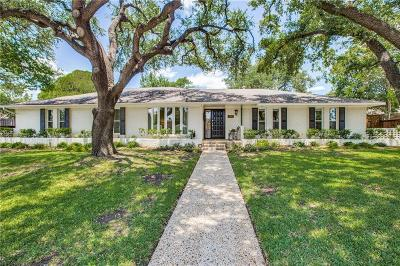Dallas Single Family Home For Sale: 6841 Heatherknoll Drive