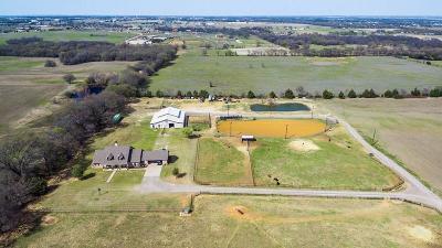Pilot Point Farm & Ranch For Sale: 1555 E Blackjack Road