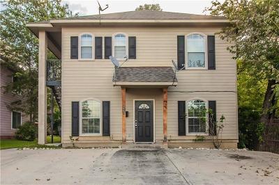 Tarrant County Multi Family Home For Sale: 2811 Wayside Avenue