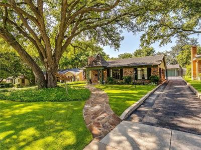 Fort Worth Single Family Home For Sale: 3828 Hilltop Road