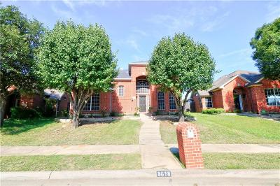 Carrollton Single Family Home For Sale: 3613 Stockton Drive