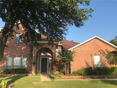 Desoto Single Family Home Active Option Contract: 1209 Urban Drive