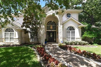 Irving Single Family Home Active Option Contract: 1900 Valley Oaks Court