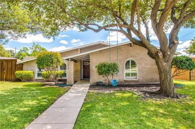 Plano Single Family Home Active Option Contract: 1512 W Spring Creek Parkway