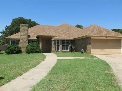 Azle Single Family Home Active Option Contract: 800 Lee Court