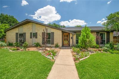 Richardson Single Family Home Active Option Contract: 601 Opal Lane