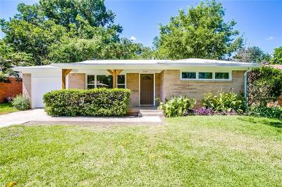 Fort Worth Single Family Home For Sale: 5504 Fursman Avenue