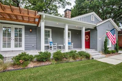 Dallas Single Family Home For Sale: 9431 Northcliff Drive