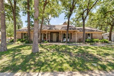 Euless Single Family Home Active Contingent: 207 W Ash Lane