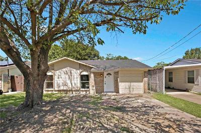 Grand Prairie Single Family Home For Sale: 2033 Avenue B