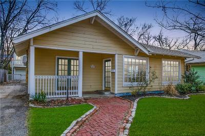 Dallas Single Family Home For Sale: 5400 Worth Street