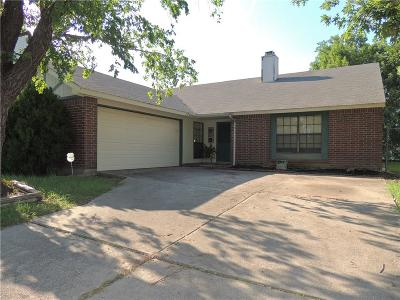 Fort Worth Single Family Home For Sale: 4205 Huckleberry Drive