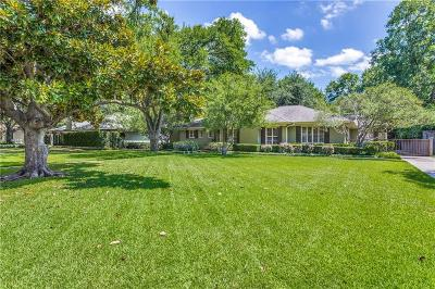 Dallas Single Family Home For Sale: 6026 Prestonshire