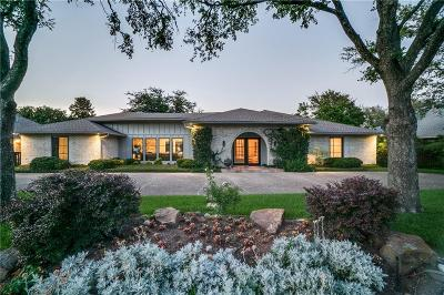 Dallas Single Family Home For Sale: 5738 Club Oaks Drive