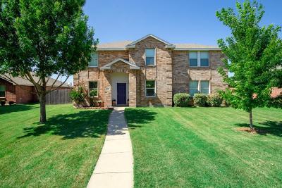 Wylie Single Family Home For Sale: 2903 Glendale Drive