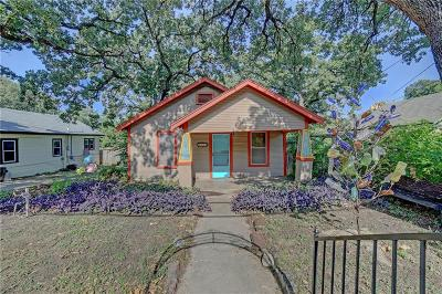Fort Worth Single Family Home For Sale: 2924 Malcolm Street
