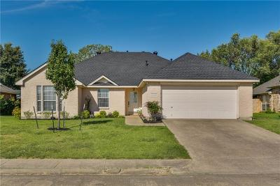 Waxahachie Single Family Home Active Option Contract: 603 Columbia Avenue