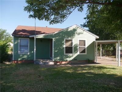 Palo Pinto County Single Family Home For Sale: 1609 SE 21st Street