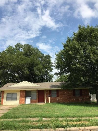 Irving Residential Lease For Lease: 2725 Wesleyan Drive