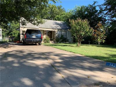 Tarrant County Single Family Home For Sale: 1424 Lawrence Road