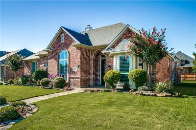 Coppell Single Family Home Active Option Contract: 1507 Falls Road