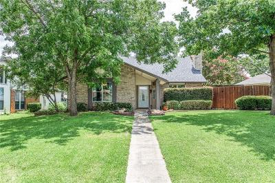 Lewisville Single Family Home Active Option Contract: 814 Mockingbird Circle