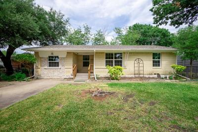 Dallas Single Family Home For Sale: 8822 Rustown Drive