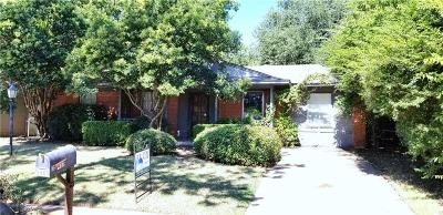 Denton Single Family Home For Sale: 3905 Titan Trail