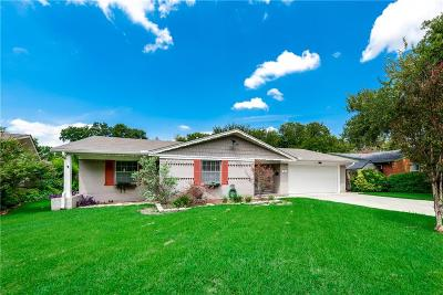 Irving Single Family Home Active Contingent: 411 Robinhood Drive
