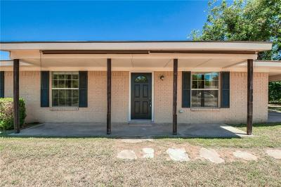 Archer County, Baylor County, Clay County, Jack County, Throckmorton County, Wichita County, Wise County Single Family Home For Sale: 1004 N Cates Street