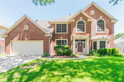 Grand Prairie Single Family Home For Sale: 4512 Rosedale Drive